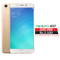 Oppo A57 WITH 1 year Installment Plan
